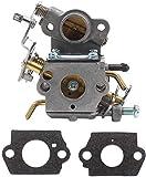 YYCHER Carburador Para Partner P738 P740 P742 P840 P842 GCS C1M-W26 A B C Carburador Motosierra Piezas y accesorios