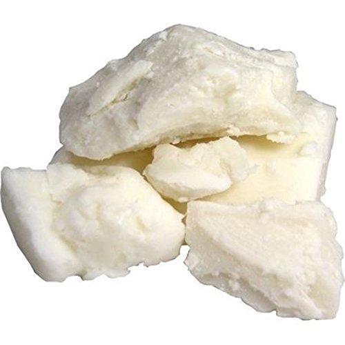 Raw Unrefined African Shea Butter Bar - 1 to 10 lbs Block Bar Various Size by Sheanefit (Ivory, 5lbs)