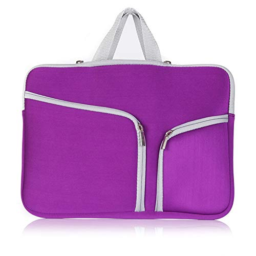 RZL PAD & TAB cases For Macbook New Air Pro, Women Men Laptop Sleeve Dual Pocket Case Portable Notebook Bag for Macbook New Air Pro Retina 11 12 13 15 13.3 15.4 inch