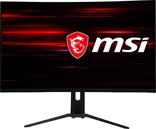 "MSI 31.5"" FHD (1920 x 1080) Non-Glare HDR Ready 180Hz 1500R Curvature 1ms 16:9 HDMI/DP/USB AMD FreeSync Height Tilt Adjustment Curved Gaming Monitor (OPTIX MAG322CR)"