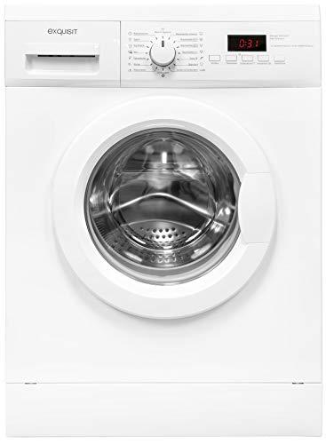 Exquisit Waschmaschine WA 7014-3.1 | Frontlader |7 kg Fassungsvermögen |weiß
