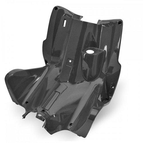 Leg Shield/TNT Flocking Interior-for Yamaha/Aerox/MBK Nitro-Metallic Black