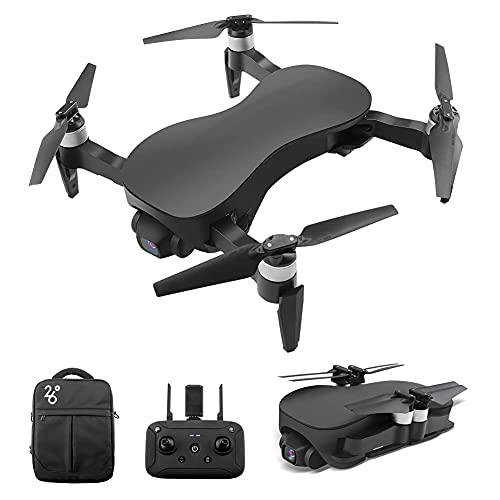 Drone RC senza spazzole con fotocamera Gimbal stabilizzato a 3 assi 12MP 4K HD Photo Quadcopter, follower intelligente, volo a punto fisso, zoom dell'obiettivo, sistema riposizionamento 4, per adult