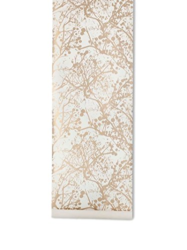 Ferm Living Wilderness wallpaper - goud