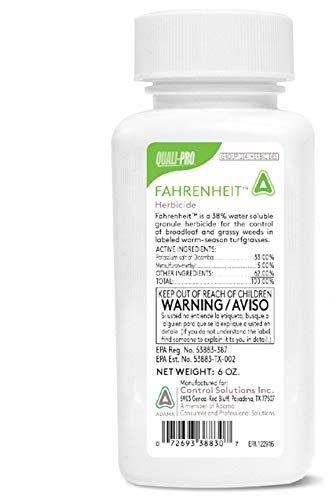 Control Solutions Fahrenheit Herbicide - 6 OZ