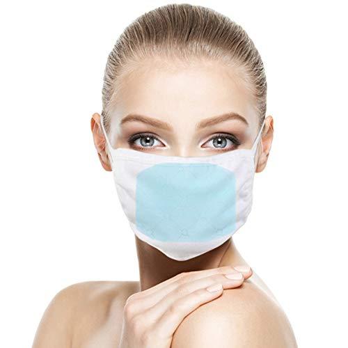 KEKEDA 10 STKS Huidvriendelijk Maskerpakking Verwijderbare 3-laags Maskers Pakket, Veiligheid Anti Stof Ademend Verwijderbaar Mond Gezichtsmasker
