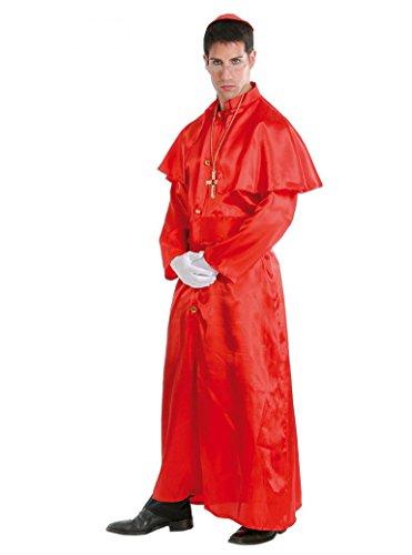 Guirca - Déguisement cardinal, couleur rouge, 35702.