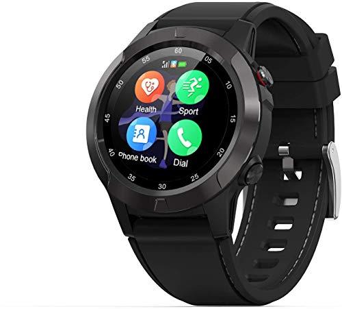 OH Smartwatch Men's Sports Smart Relojes Inteligentes, Presión Arterial de la Altitud de la Presión Arterial de la Presión Arterial Posicionamiento Al Aire Libre Gps Reloj Inteligen