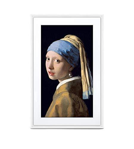 MEURAL Canvas II MC327WL Smart Art Digitale HD-Leinwand 48 x 74 cm (Weißer Rahmen, 27 Zoll, Gemälde und Fotografien werden in naturgetreuen Details wiedergegegeben, WLAN mit App, von Netgear)