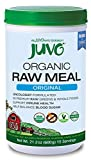Juvo Organic Raw Meal, Original, 21.2 Oz, Vegan, Gluten Free, Non-Gmo, No Stevia, 5 Bil Cfu Probiotics, 9g of Fiber