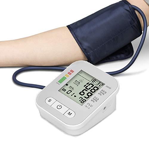 HRRH Blutdruckmessgerät, vollautomatische Pulsmessung Herzschlag-Test Neues Oberarm-Blutdruckmessgerät Tonometer