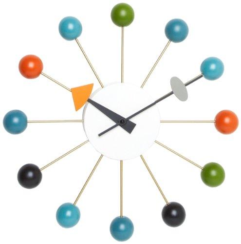 Vitra 20125003 Wanduhr Ball Clock 330 mm mehrfarbig