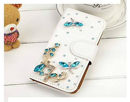 Handmade Bling Diamond Rhinestone PU Leather Filp Cover Wallet Case For S8 S7edge S9 For Iphone X 5S 6 6S 7 8 Plus photo color5 for iphone X