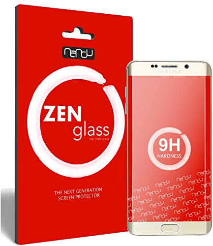ZenGlass Flexible Glas-Folie kompatibel mit Samsung Galaxy S6 Edge Plus Panzerfolie I Display-Schutzfolie 9H I (Kleiner Als Das Gewölbte Display)