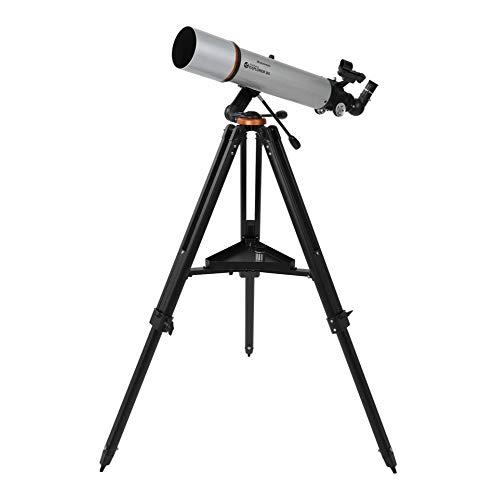 Celestron StarSense Explorer DX 102AZ Smartphone App-fähiges Teleskop – funktioniert mit StarSense App, um Sterne, Planeten und mehr zu finden – 102 mm Refraktor – iPhone/Android kompatibel