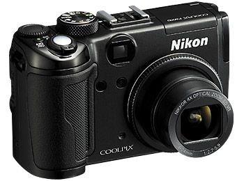 Nikon Coolpix P6000 Digitalkamera (13 Megapixel, 4-Fach Opt. Zoom, 6,9 cm (2,7 Zoll) Bildschirm, Bildstabilisator) schwarz