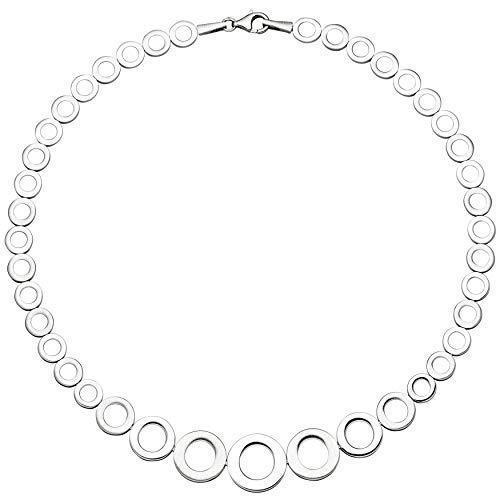 JOBO Damen-Halskette aus 925 Silber im Verlauf 45 cm