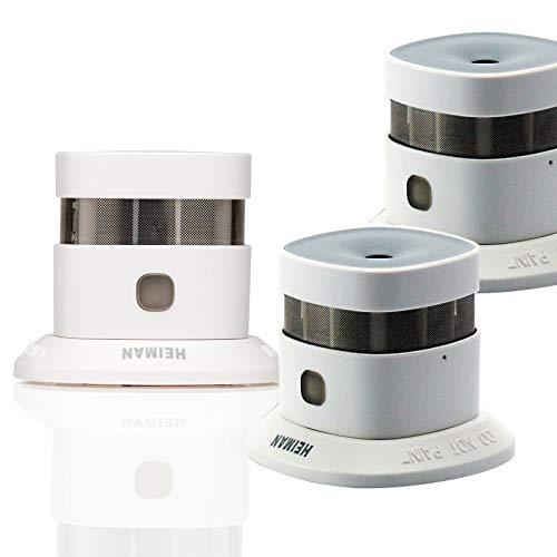 HEIMAN 10-Jahres mini Design Rauchwarnmelder/Smoke Sensor/Rauchmelder/Feuermelder/Brandmelder -...