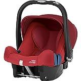 Britax Römer Baby-Safe plus SHR II - Asiento infantil para coche, grupo 0+ (recién nacido - 13 kg) rojo Flame Red