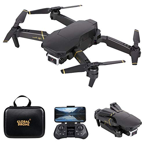 GoolRC GD89 PRO RC Drone with 4K HD Camera for Adults, Optical Flow Positioning RC Quadcopter with 3D Flip, Avoidance, Track Flight, Altitude Hold, Headless Mode, Includes Carrying Bag