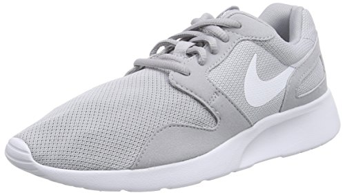 Nike Kaishi - Zapatillas para mujer, color gris / blanco, Gris (Gris/Blanco), 36.5 EU