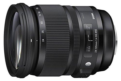 Sigma Art, 24-105mm F4 DG OS HSM - Objetivo (24-105mm F4 DG OS HSM, SLR, 19/14, Zoom estándar, Sigma, Negro, 8,86 cm)