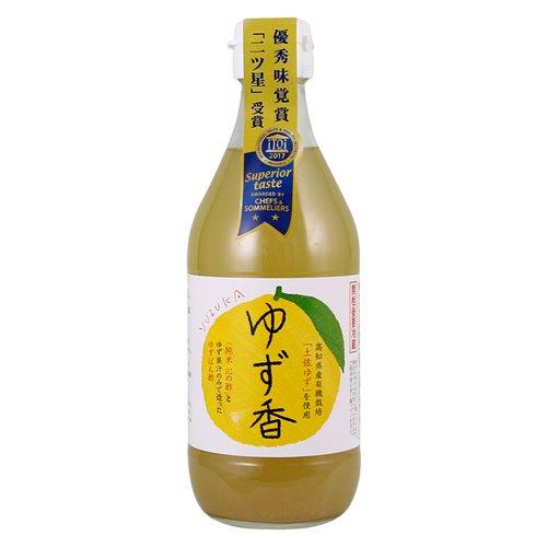 心の酢 ゆず香 360ml 単品 ゆずポン酢 飲むお酢 戸塚醸造店