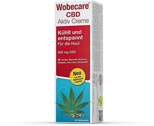 Wobecare CBD Aktiv Creme, 100 ml