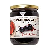 Peninsula Premium Cocktail Cherries | Award Winning | For Cocktails and Desserts | American Grown...
