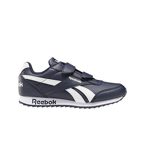 Reebok Royal CLJOG 2 2V, Zapatillas de Running, Maruni/Maruni/Blanco, 34 EU