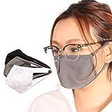 バレッタ マスク 抗菌 布 制菌加工 撥水 洗える 制菌 おしゃれ 手作り フェイスマスク facemask グレー M~Lサイズ