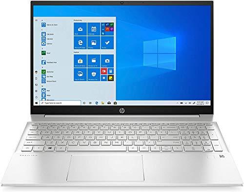 HP Pavilion 15 Intel Core i5 1135G7, 8GB RAM, 256GB SSD, NVIDIA MX450 2GB,15.6″ HD Display, Windows 10, Silver