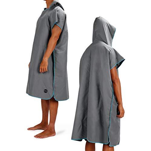 Eono by Amazon - Swimming Changing Robe Towel (Grey)
