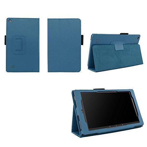 Case for Kindle Fire 7 Inch Tablet - Folio Case with Stand for Kindle Fire 7 Inch Tablet (Both 5th and 7th Generation) - (Dark Blue)