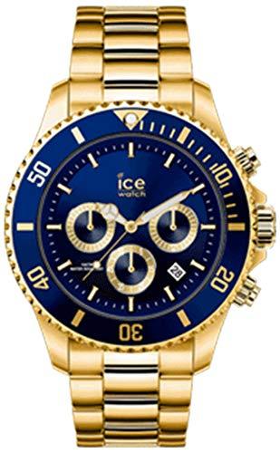 Ice Steel IC017674 - Reloj analógico de cuarzo para hombre con pulsera de acero inoxidable