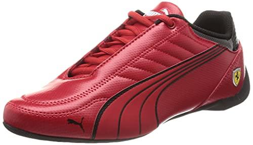 PUMA Ferrari Race Future Kart Cat, Football Shoe Mixte, Red, 42 EU