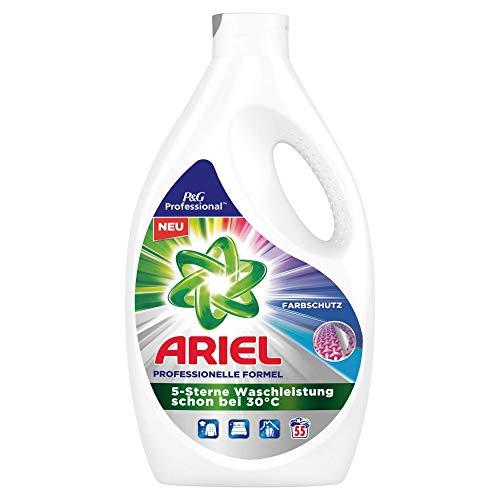 Ariel Professional Vollwaschmittel flüssig Colorwaschmittel 3,025l– 55Waschladungen