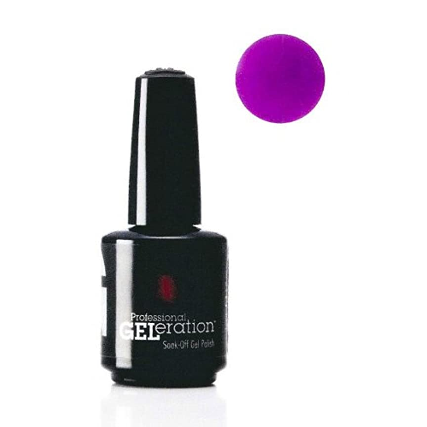 オフ明日不機嫌そうなGELeration(ジェレレーション) バイオレットフレーム (VioletFlarne) #GEL-953