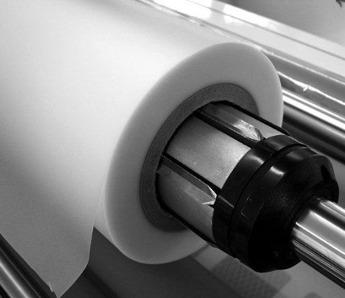 POV® Rollenlaminierfolie glänzend, 320 mm breit, 60 m lang, 125 mic, Kern 26mm, Verpackungseinheit: 1 Rolle