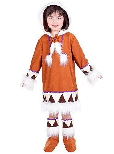 Disfraz de esquimal para niña - 5-7 años