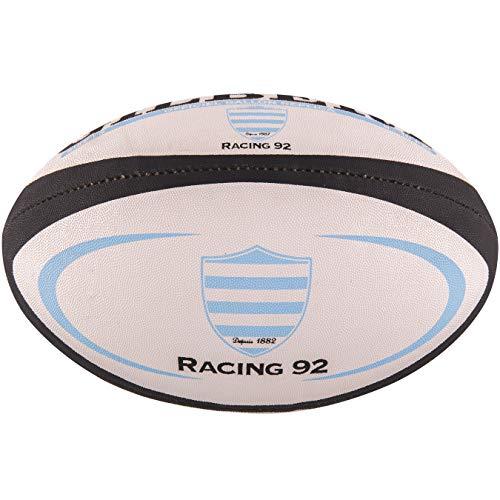GILBERT Ballon de rugby REPLICA - Racing 92 - Taille Mini