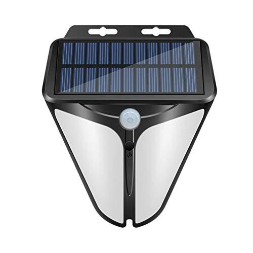 Oyria Luces solares para Exteriores Lámpara Solar LED con Sensor de Movimiento 3 Modos Luz de Pared de Seguridad Luz de Pared Solar Impermeable para jardín, Patio, Garaje, Camino