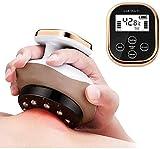 Dispositivo De Masaje De Raspado Eléctrico Gua Sha, Masajeador Moldeador De Cuerpo con Calor Y Presión Negativa para Alivio del Dolor De Espalda Corporal-relajación