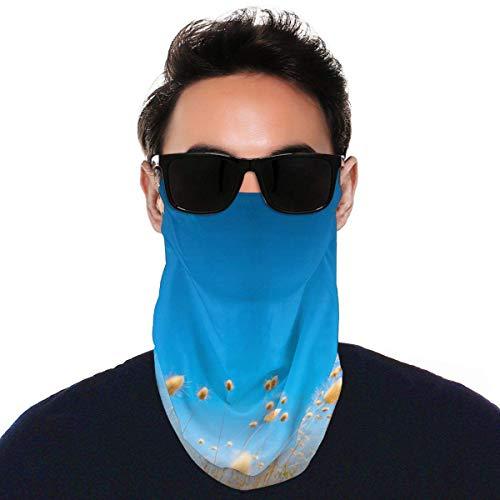 JONINOT Pañuelo para Cubrir la Cara con Orejeras Bufanda de Buceo Polainas para el Cuello Pasamontañas a Prueba de Polvo Protección UV Headwear`Q8
