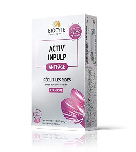 Biocyte - Activ' Inpulp - Anti-Âge - Réduit les rides - Multi-Vitamines et Minéraux - 30 Capsules