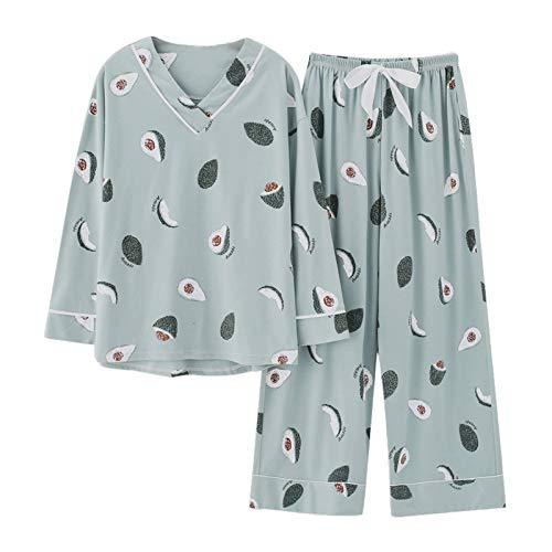 Albornoces de las Mujeres de Pijamas Conjuntos Más el...