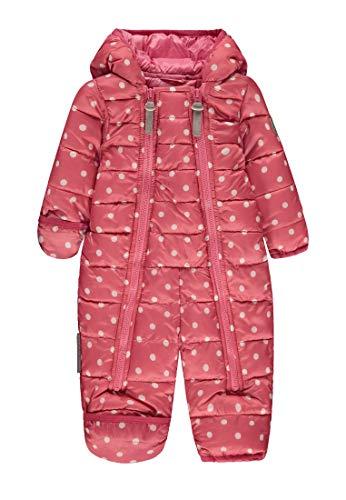 Ticket to Heaven Baby-Mädchen Overall Lightweight Padding Copra Allover Schneeanzug, Rosa (Confetti|Rose 2400), (Herstellergröße: 62)