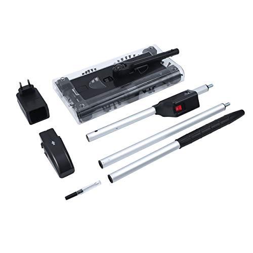 Ba30DEllylelly Multifunktionaler elektrischer Hauswirbel Schnurloser Reiniger Automatische Haushaltsreinigungsmaschine Schwarz Einfach zu bedienen