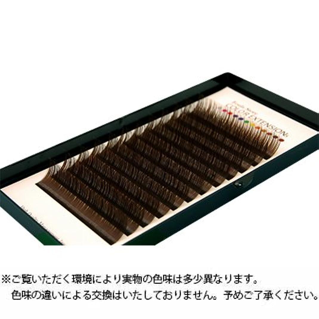 バッフル優雅な知恵【フーラ】カラーボリュームアップラッシュ 12列シート ダークブラウン Cカール 0.06mm×11mm