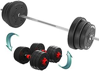 Joseph Fitness Equipment - Mancuerna para hombre con barra curvada para levantamiento de pesas